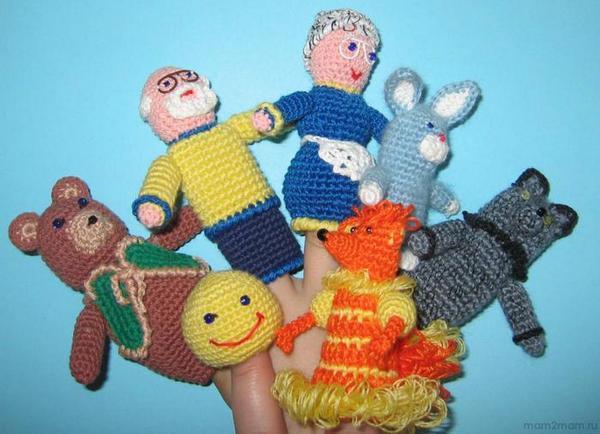 Кукольный театр своими руками крючком фото