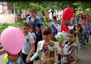 День Победы в детском саду №312